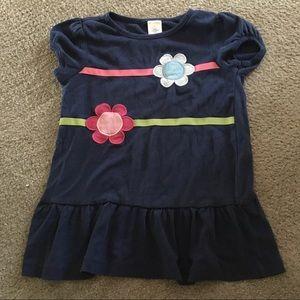 Gymboree size 7 navy blue tunic top